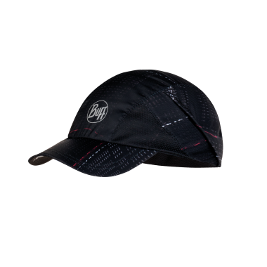 Buff Pro Run Cap: R-Lithe Black-Headwear-Likeys