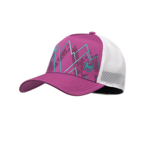 Buff Trucker Tech Cap: Solid Violet-Headwear-Likeys