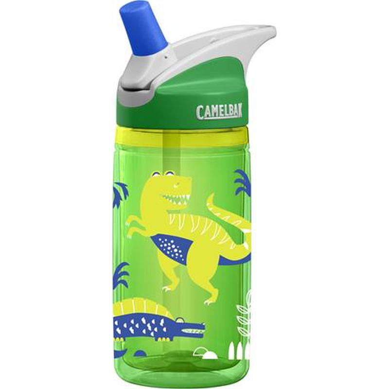 CamelBak Eddy Kids Insulated 0.4L Bottle: Green Dinos-Hydration-One Size-Likeys