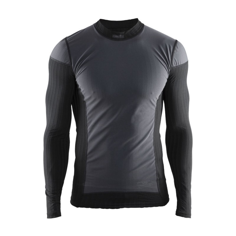 Craft Men s Active Extreme 2.0 CN LS WS Baselayer Top  Black – Likeys cac61ae05