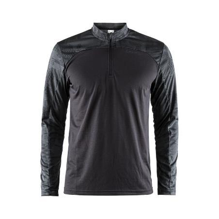 Craft Men's Eaze LS Zip Tee