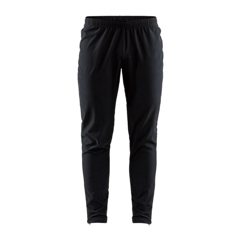 Craft Men's Eaze Track Pants: Black-Leggings-Likeys