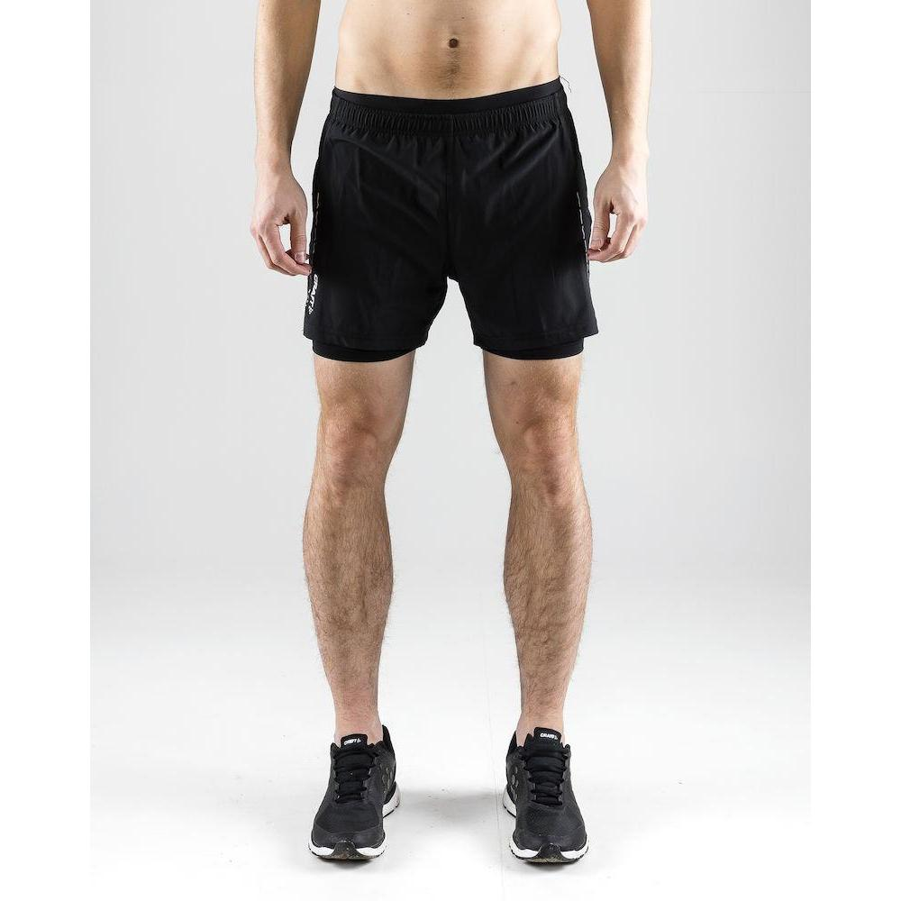 Craft Men's Essential 2 in 1 Shorts-Shorts-Likeys