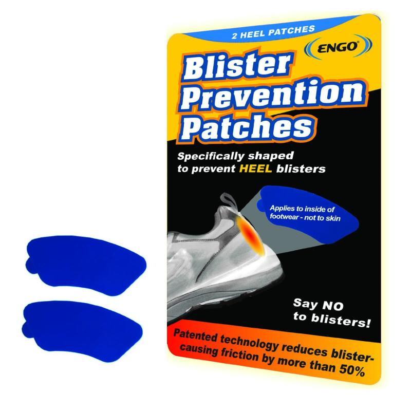 Engo Blister Prevention Heel Patches (2 Pack Blue)-First Aid & Emergency-One Size-Likeys