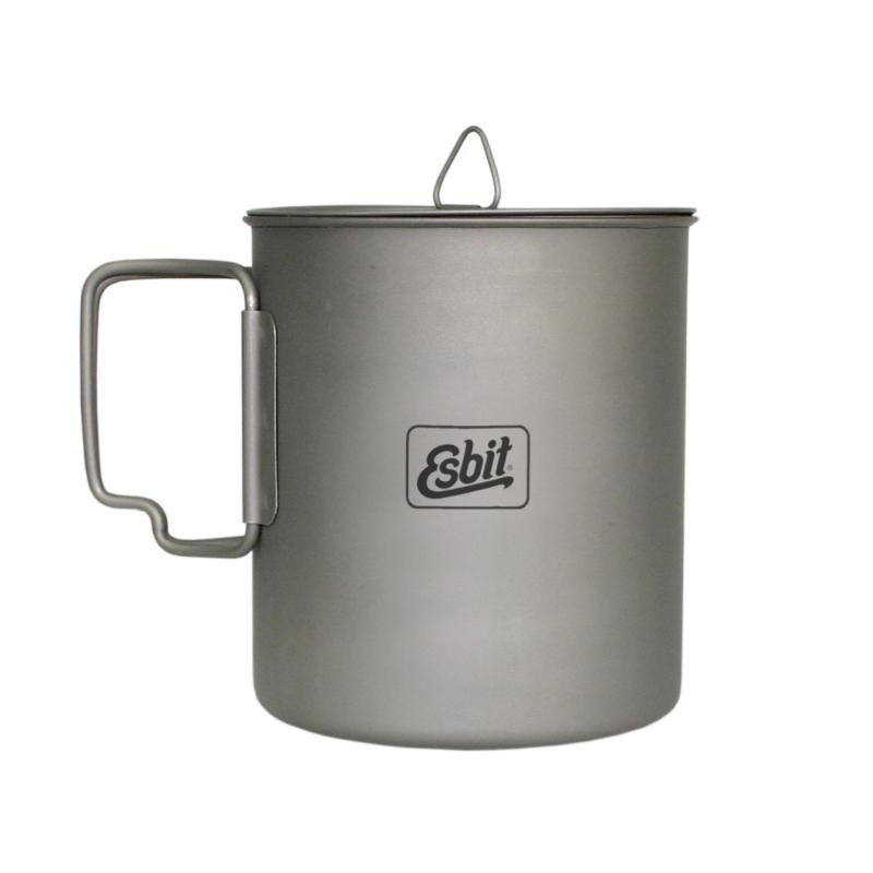 Esbit 0.75L Titanium Pot-Cooking-One Size-Likeys