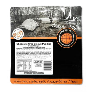 Expedition Foods Chocolate Chip Biscuit Pudding-Food & Nutrition-Single Serving-Likeys