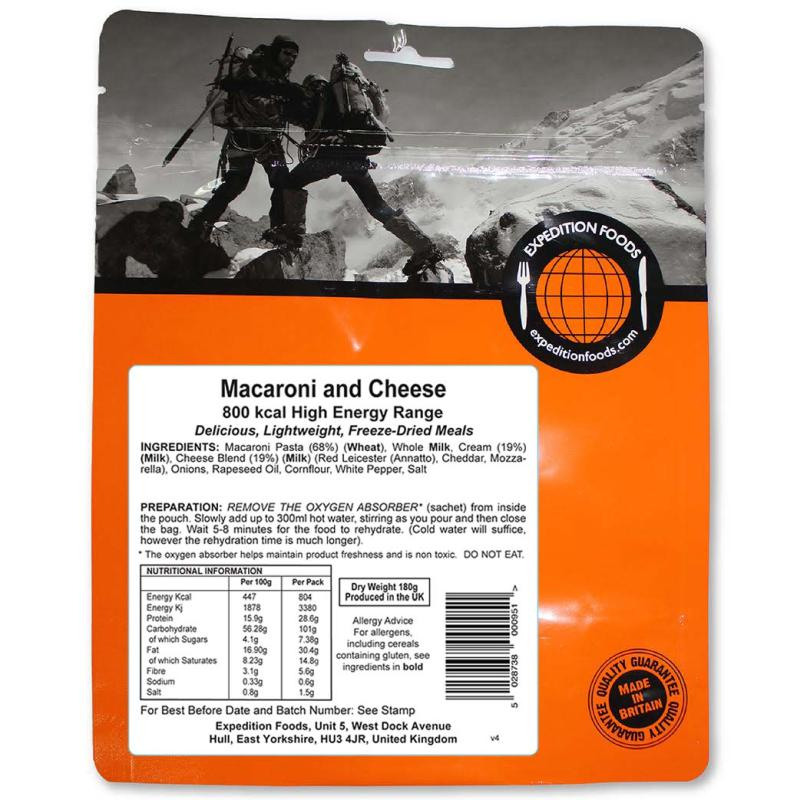 Expedition Foods Macaroni and Cheese-Food & Nutrition-Single Serving-Likeys