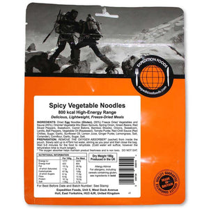 Expedition Foods Spicy Vegetable Noodles-Food & Nutrition-Single Serving-Likeys
