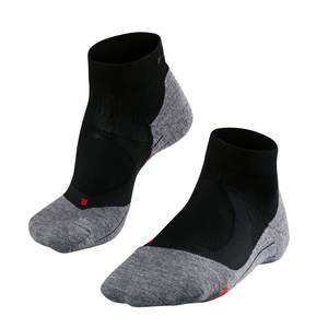 Falke Men's RU4 Cushion Short Running Sock: Black Mix-Socks-Likeys