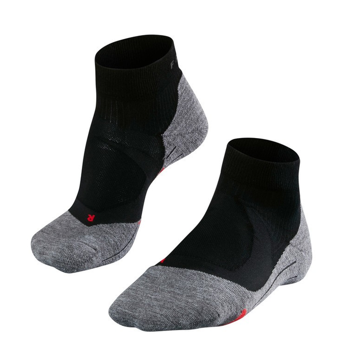 Falke Men's RU4 Cushion Short Running Sock: Black Mix