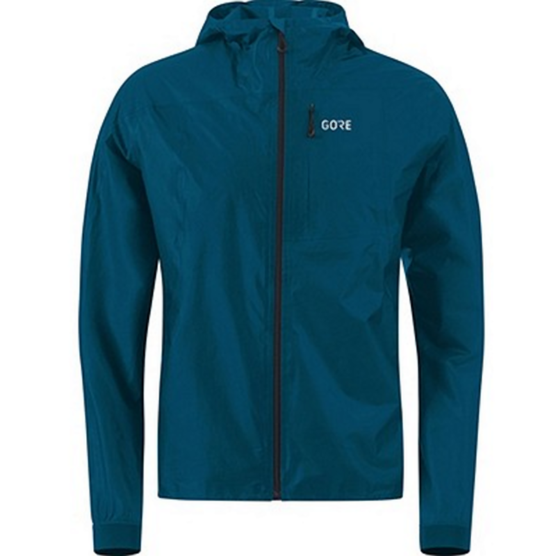 Gore R7 Gore-Tex Shakedry Hooded Jacket: Pacific Blue-Jackets-Likeys
