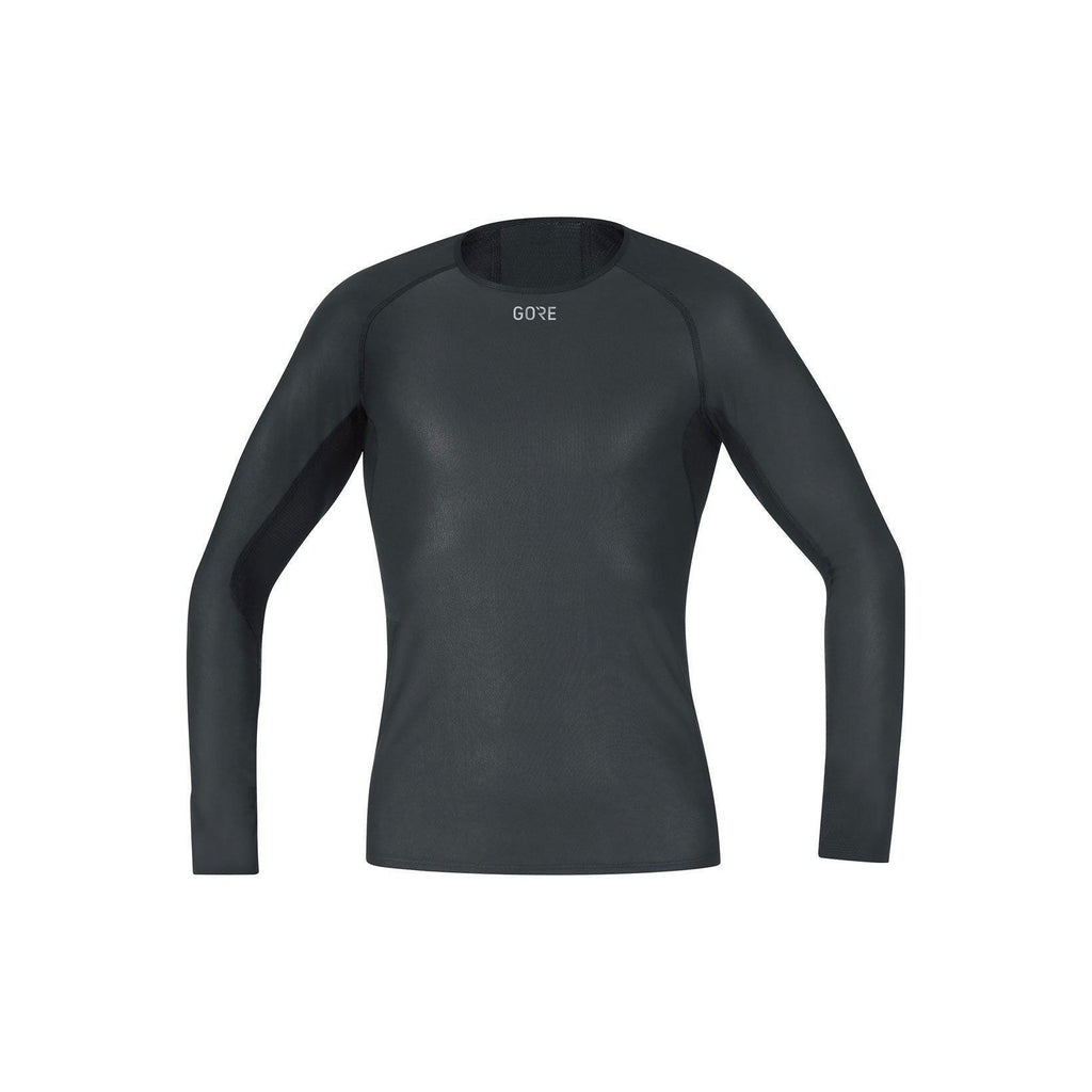 Gore Wear Men's Gore Windstopper Base Layer Long Sleeve Shirt-Baselayers-Likeys