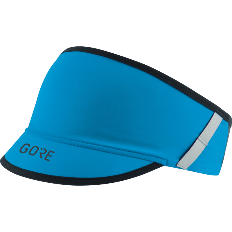 Gore Wear R7 Visor: Dynamic Cyan-Headwear-One Size-Likeys