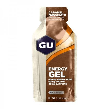 GU Energy Gel Caramel Macchiato - with caffeine