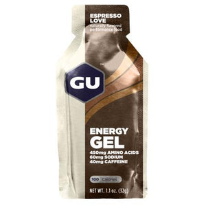 GU Energy Gel Espresso Love - with double caffeine-Food & Nutrition-Single Serving-Likeys