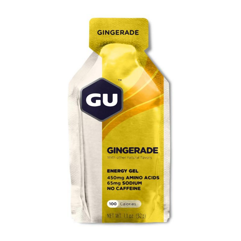 GU Energy Gel Gingerade-Food & Nutrition-Single Serving-Likeys