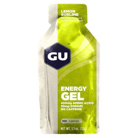 GU Energy Gel Lemon Sublime-Food & Nutrition-Single Serving-Likeys