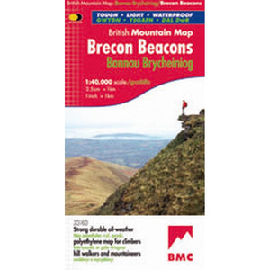 Harvey Maps Brecon Beacons British Mountain Map-Maps & Books-One Size-Likeys