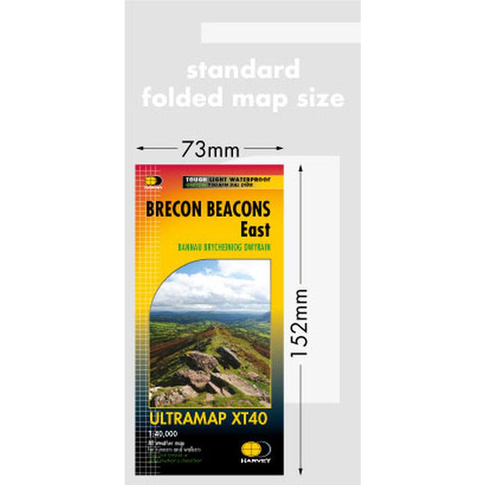 Harvey Maps Brecon Beacons East Ultramap