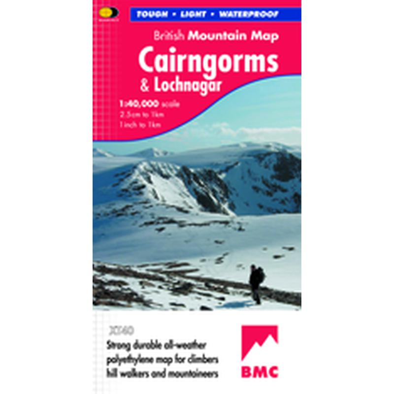 Harvey Maps Cairngorms & Lochnagar British Mountain Map-Maps & Books-One Size-Likeys
