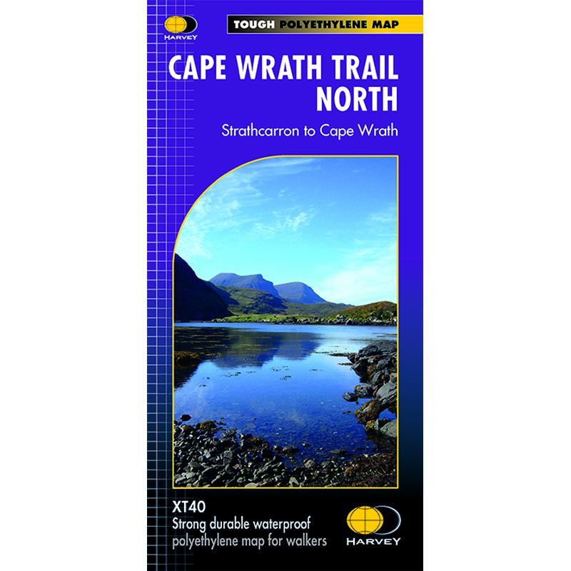 Harvey Maps Cape Wrath North XT40-Maps & Books-One Size-Likeys