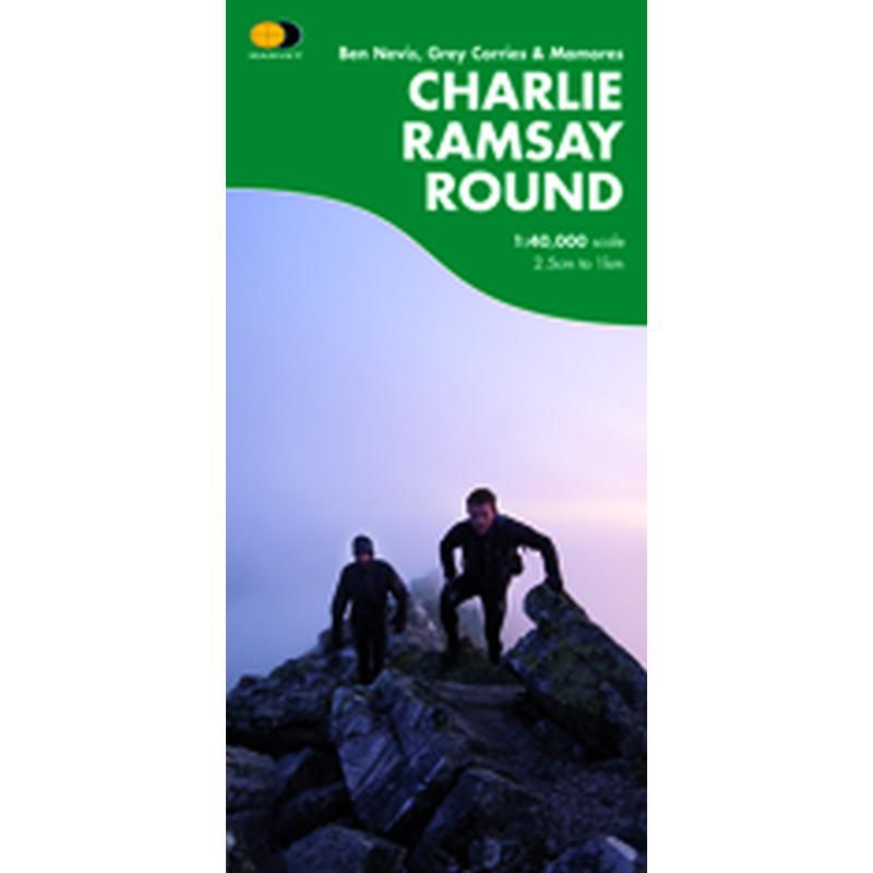 Harvey Maps Charlie Ramsay Round Map-Maps & Books-One Size-Likeys