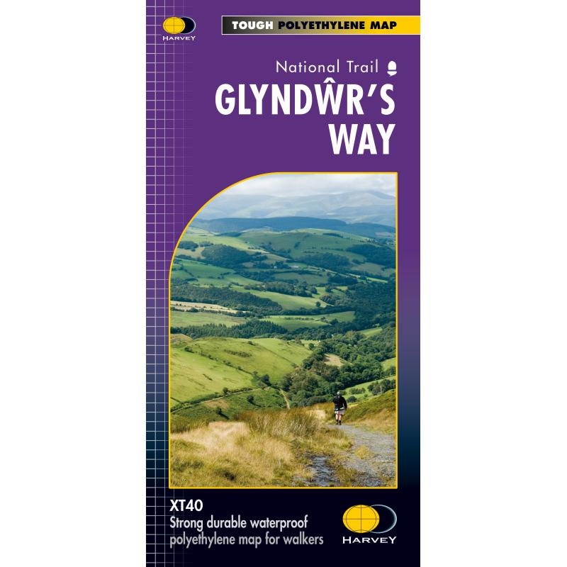Harvey Maps Glyndwrs Way XT40-Maps & Books-One Size-Likeys