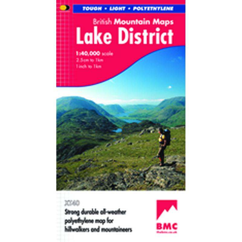 Harvey Maps Lake District British Mountain Map-Maps & Books-One Size-Likeys