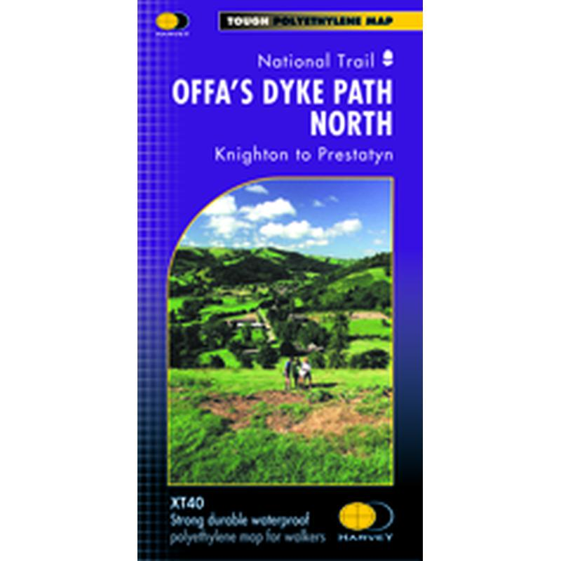 Harvey Maps Offas Dyke North XT40-Maps & Books-One Size-Likeys