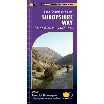 Harvey Maps Shropshire Way XT40