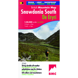 Harvey Maps Snowdonia South British Mountain Map-Maps & Books-One Size-Likeys
