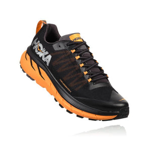 Hoka Men's Challenger ATR 4: Black/Kumquat-Trail Running Shoes-Likeys