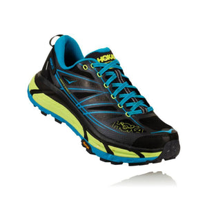 Hoka Men's Mafate Speed 2: Nine Iron/Black-Trail Running Shoes-Likeys