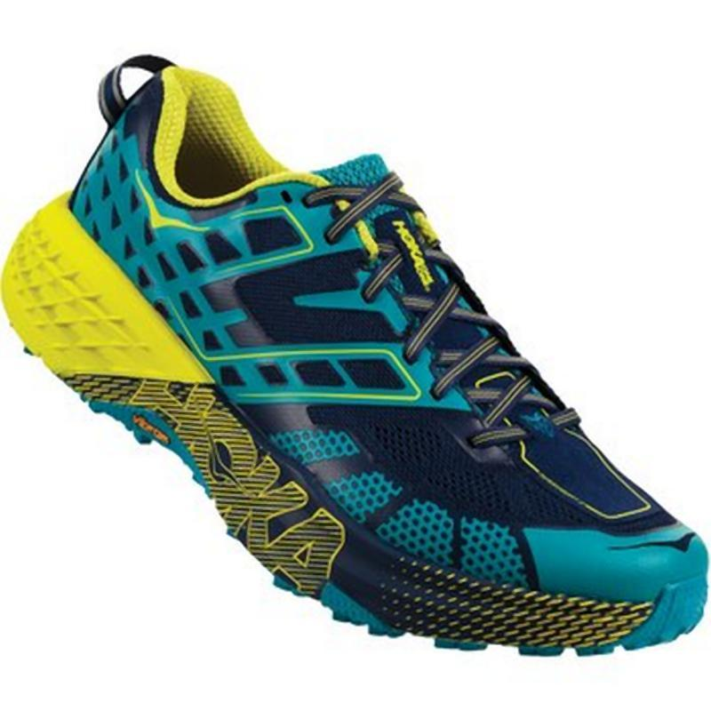 Hoka Men's Speedgoat 2: Carribean Sea/Blue Depths-Trail Running Shoes-Likeys