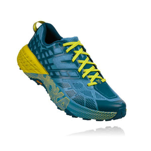 Hoka Men's Speedgoat 2: Midnight/Niagra-Trail Running Shoes-Likeys
