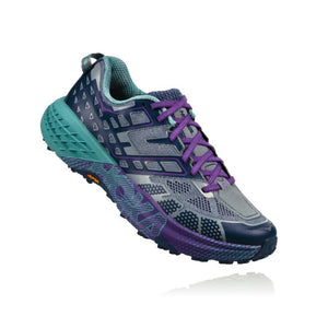 Hoka Women's Speedgoat 2-Trail Running Shoes-UK 3.5-Tradewinds - Vintage Indigo-Likeys