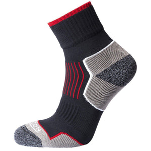 Horizon Performance Atomic 29 Sock: Anthracite/Red-Socks-Likeys