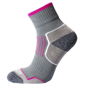 Horizon Performance Atomic 29 Sock: Charcoal/Cerise-Socks-Likeys