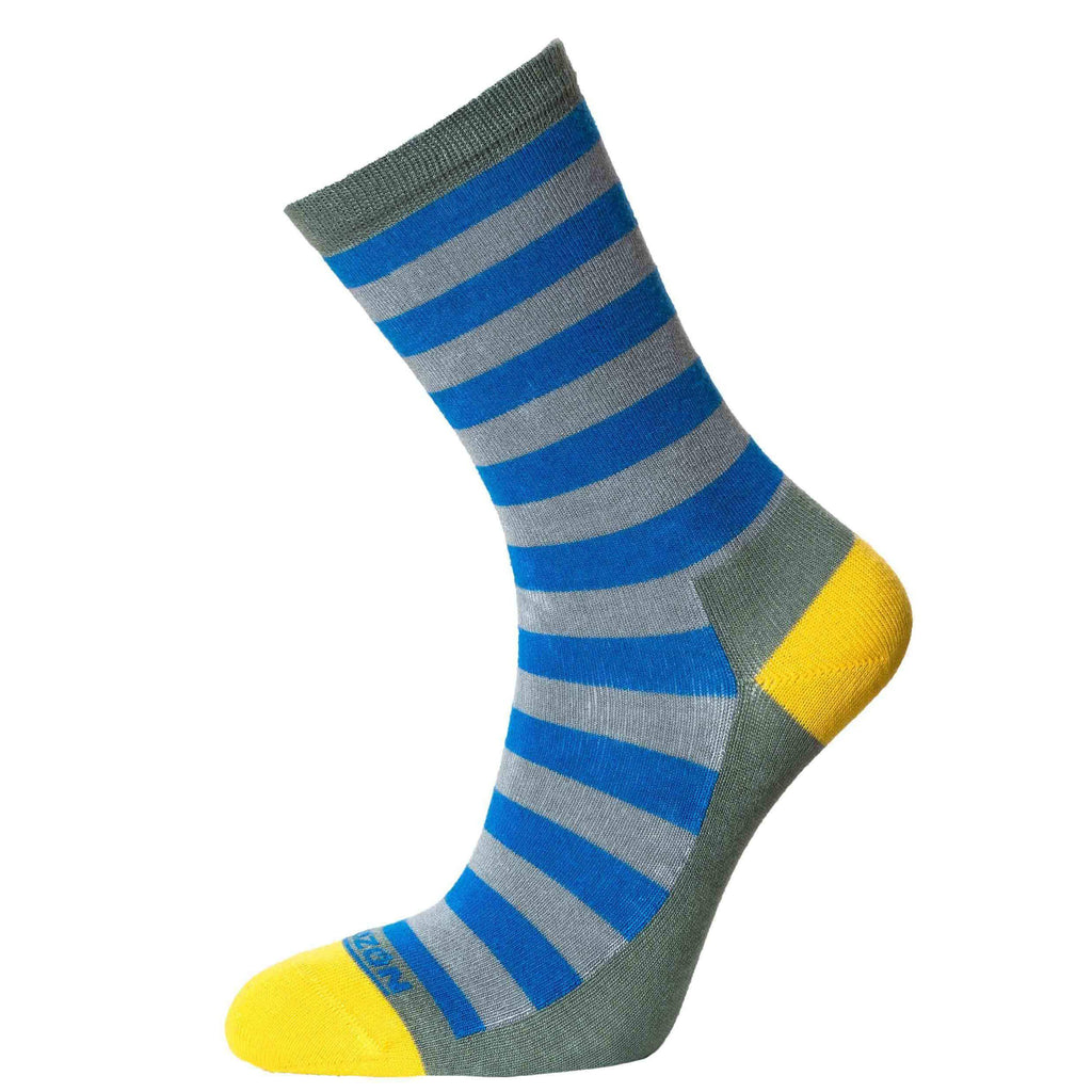 Horizon Women's Bamboo Lifestyle Socks-Socks-Royal - Yellow-UK 4 - 7-Likeys