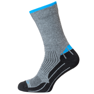 Horizon Women's Performance Coolmax Hiker Sock - Grey/Blue-Socks-Likeys