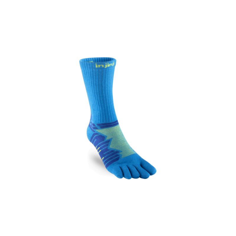 Injinji Ultra Run Crew: Blue-Socks-Likeys