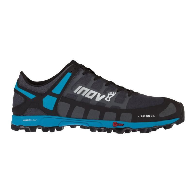 Inov-8 Men's X-Talon 230: Grey/Blue-Trail Running Shoes-Likeys