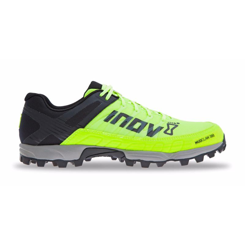 Inov-8 Mudclaw 300: Neon Yellow-Trail Running Shoes-Likeys