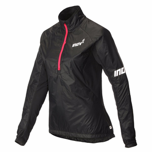Inov-8 Women's AT/C Thermoshell Synthetic Jacket: Black/Coral-Jackets-Likeys