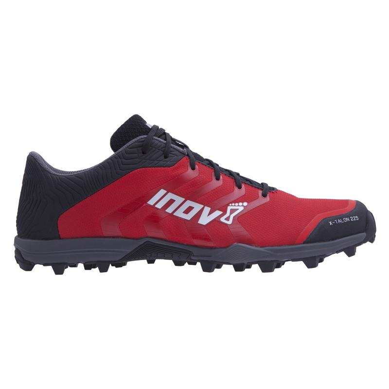 Inov-8 X-TALON 225: Red/Black/Grey-Trail Running Shoes-Likeys