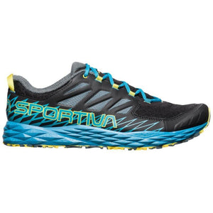 La Sportiva Men's Lycan: Black/Tropic Blue-Trail Running Shoes-Likeys