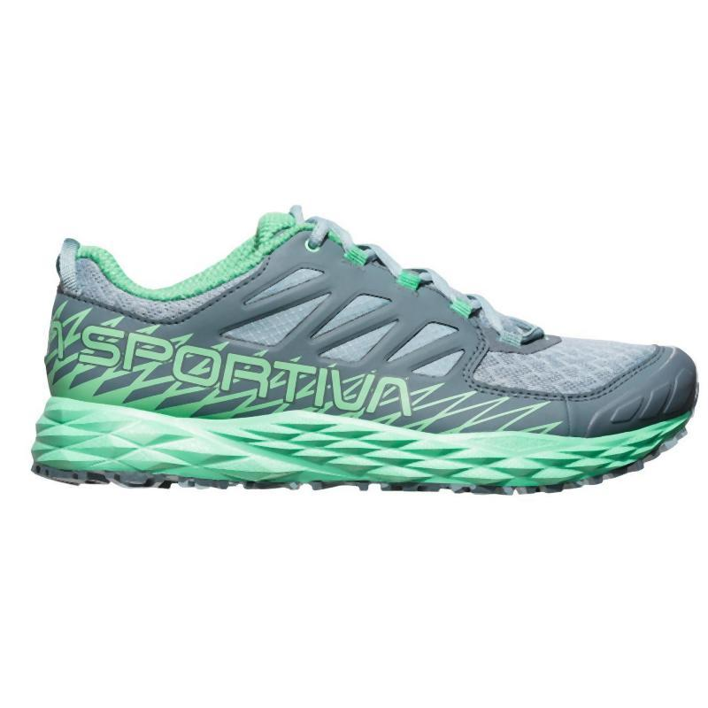 La Sportiva Women's Lycan: Stone Blue/Jade Green-Trail Running Shoes-Likeys