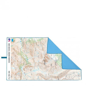 Lifeventure OSMap Peny Fan Giant Trek Towel-Accessories-OS Map-Likeys