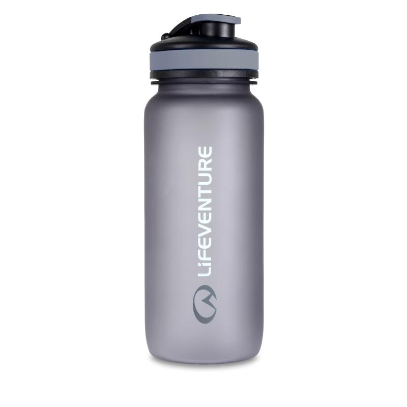 Lifeventure Tritan Bottle Graphite 650ml-Hydration-One Size-Likeys