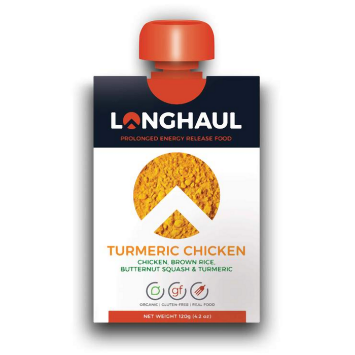 Longhaul Perform 120g Pouch: Turmeric Chicken